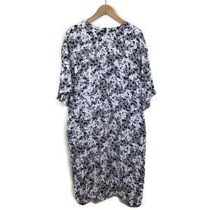 Marimekko Ester Dress Floral Print Shift Mekko 44